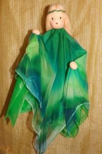 Wiegenfee grün-blau