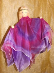 Wiegenfee lila-pink
